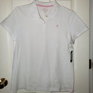 Lilly Pulitzer White Polo - Size L